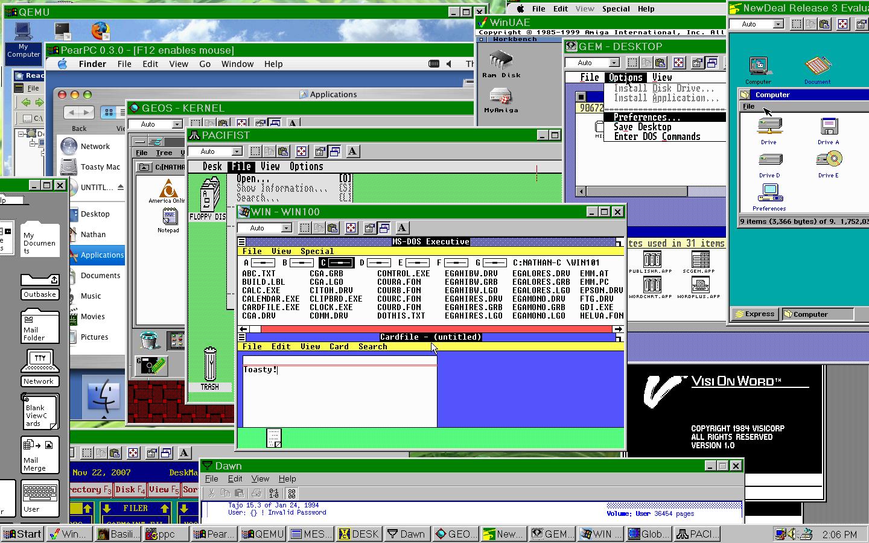 Sistemas operativos for 2 window