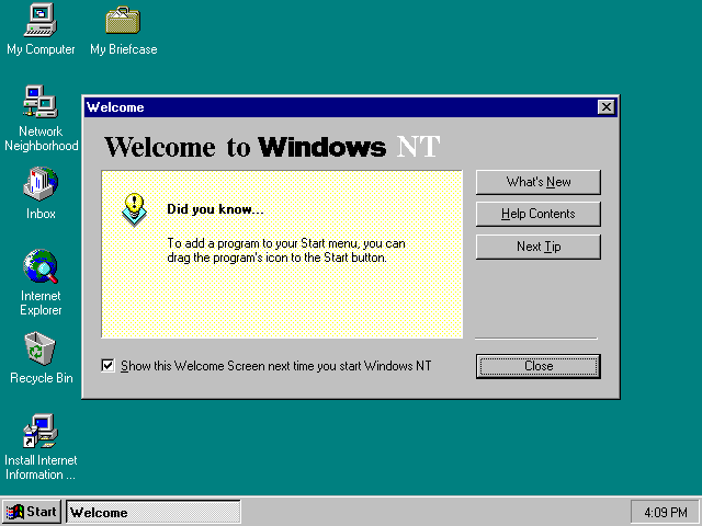 the background of windows nt operating system from unix perspective Operating systems case study windows windows as well as older operating systems such as ms-dos • windows nt 351 was formally evaluated for c2.