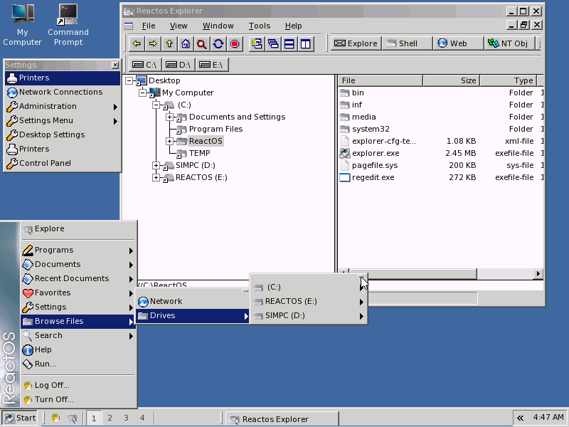 Image Result For Reactos