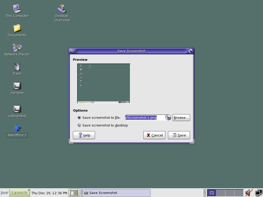 Solaris 10 - Java Desktop System