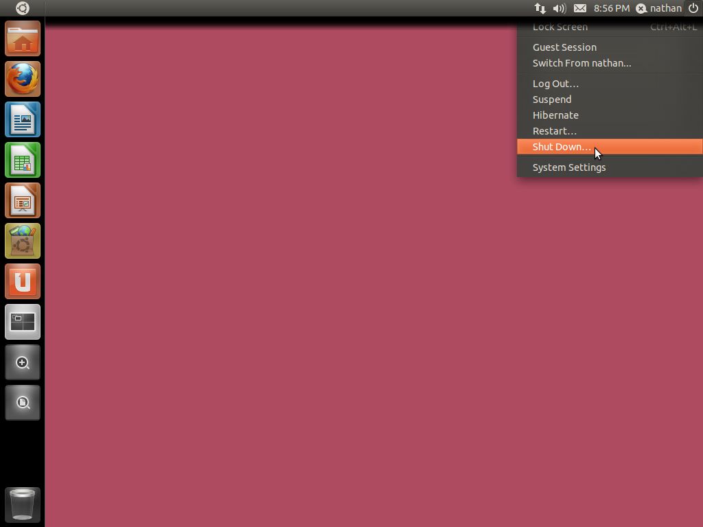 Last night, the bfb (the ubuntu logo button used to open dash) got the new asset (icon) we wrote about a while back