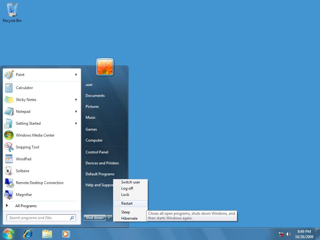 Shutdown windows 7 скачать