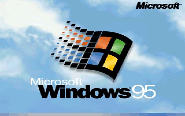 Windows 95 for Windows 95 startup sound